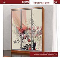 Шкаф-Купе 3-х дверный 1800 высотой 2400