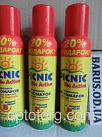 Аэрозоль от комаров Пикник Актив 8 часов 125 мл