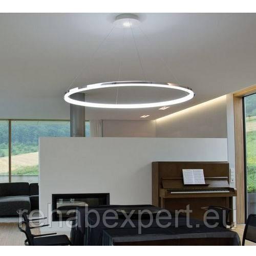Современный потолочный светильник LED Ring 60 см