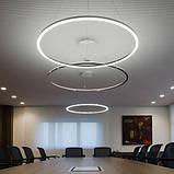 Современный потолочный светильник LED Ring 60 см, фото 2