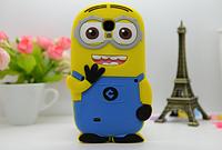 """Силиконовый чехол """"Миньон"""" для Samsung Galaxy S4 mini"""