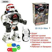Робот на радиоуправлении 28083 Воин галактики