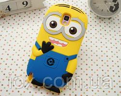 """Силиконовый чехол """"Миньон"""" для Samsung Galaxy S5 mini"""