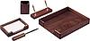 Набір настільний деревян., 5 пр., горіх 5138WDN