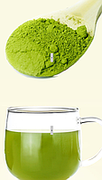 Чай Матча, зеленый чай в порошке, премиум качество, 1000 гр. Производство сентябрь 2019 г