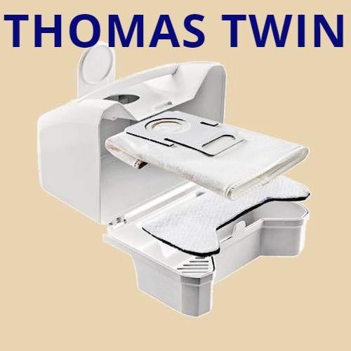 Гигиен бокс Thomas Twin T1, T2, TT, Genius, Hygiene 787229 с hepa мешком для пылесосов, фото 1