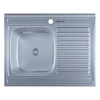Мойка кухонная накладная Imperial 5080-L левая satin 0,8 мм