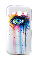 """Силиконовый чехол """"Глаз"""" для Samsung Galaxy Star Advance Duos G350"""