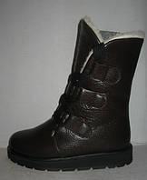 Ботинки - полусапоги женские Levi Strauss&co. коричневые