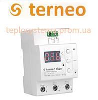Терморегулятор для электрического котла Terneo rk20 (на DIN-рейку), Украина