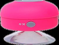 Водонепроницаемая Bluetooth-колонка hi-Shower. Портативная MP3-колонка для душа! Розовый