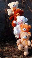Плюшевый мишка, медведь, рост 80 см, разные цвета.