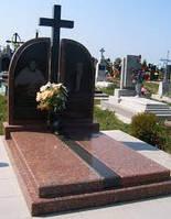 Памятники из гранита для двоих  комбинированные (Образцы №421)