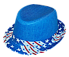 Шляпа детская челентанка комби америк.звезды