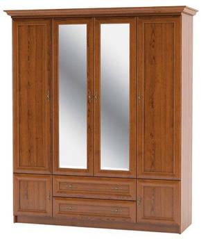 "Шкаф ""Даллас"" 4Д2Ш  Мебель-Сервис"