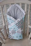 Конверт-одеяло на выписку Капитошка, фото 1
