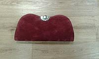 Стильный клатч элегантный бордовый (Турция)