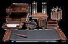 Набор настольный деревян., 9 пр., орех 9280WDN