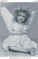 """Схема для вышивки бисером """"Милый ангелочек"""""""