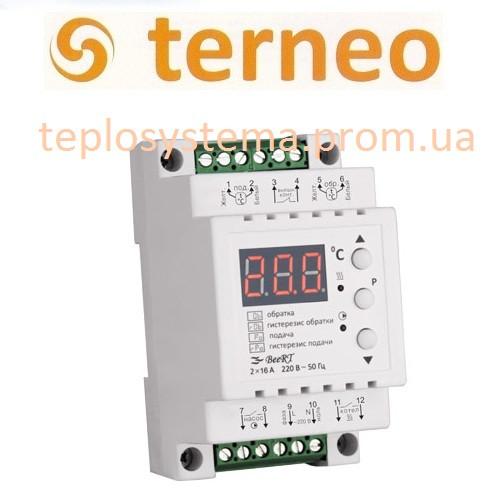 Терморегулятор Terneo BeeRt для ТЭНовых и электродных котлов (на DIN-рейку), Украина