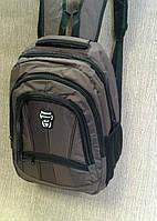 Городской рюкзак школьный качественный коричневый