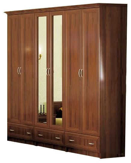 Шкаф Соната 6Д  Мебель-Сервис