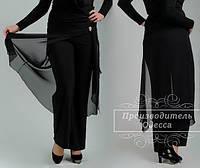 Женские брюки-юбка батал
