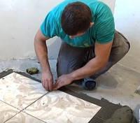 Укладка плитки на полы