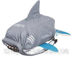 Рюкзак Trunki PaddlePak серая акула TRUA-0102