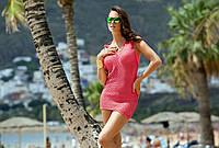 Польская пляжная туника Madora,Sisi 48, Розовый