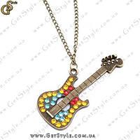 """Украшение на цепочке """"Guitar"""", фото 1"""