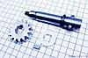 Вал ручного стартера + шестерня R175A/R180NM