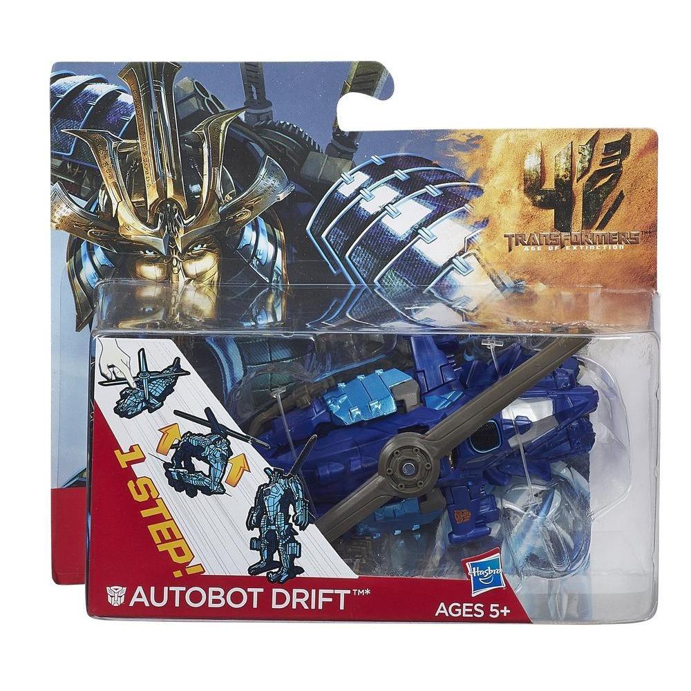Трансформер Дрифт (вертолет) - Drift, TF4, 1-Step, Hasbro