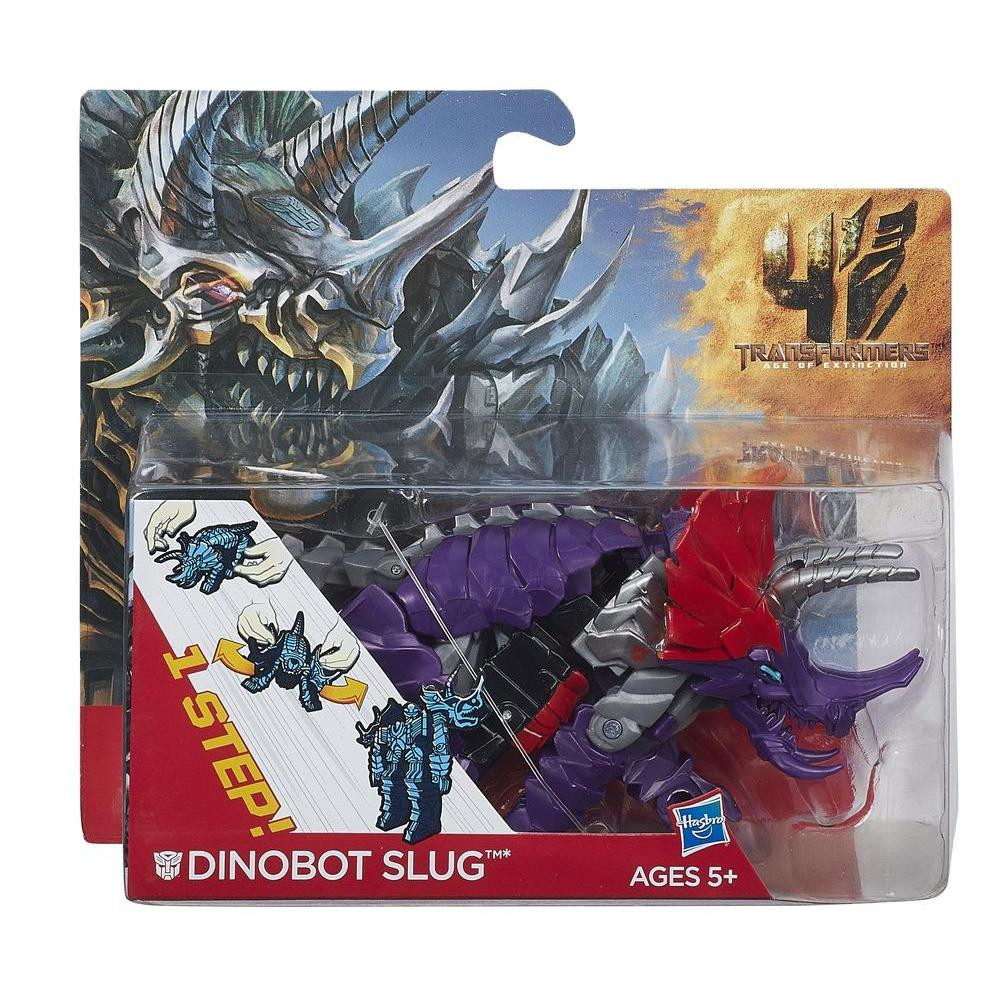 Игрушка трансформер динозавр Слаг - Slug, TF4,1-Step, Hasbro
