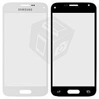 Защитное стекло корпуса для Samsung Galaxy S5 mini G800H, белое, оригинал