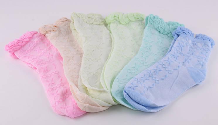 Детские носки на девочку Лилия р.23-26 (D373/23-26) | 12 пар, фото 2