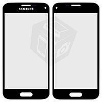 Защитное стекло корпуса для Samsung G800H Galaxy S5 mini, черное, оригинал