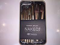 Профессиональные кисти для макияжа nk10 Naked3, фото 1