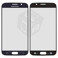 Защитное стекло корпуса для Samsung G920F Galaxy S6, синее, оригинал