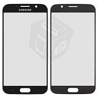 Защитное стекло корпуса для Samsung G920F Galaxy S6, черное, оригинал
