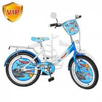 Велосипед детский мульт 20 д. бело-голубой