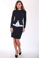 Женское платье с шифоновыми вставками, фото 1