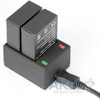 Aksline Зарядное устройство на два аккумулятора для GoPro HERO3, HERO3+