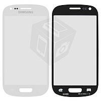 Защитное стекло корпуса для Samsung Galaxy S3 mini i8190, белое, оригинал