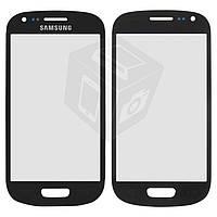 Защитное стекло корпуса для Samsung Galaxy S3 mini i8190, синее, оригинал