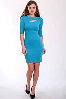 Женское платье с оригинальным вырезом, фото 1