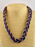 Модное украшение на шею Плетение