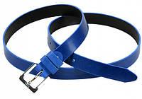 Экстравагантный кожаный женский ремень 1011 blue
