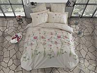 Постельное белье Mariposa Lila Cream бамбук сатин евро