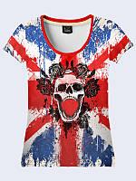 Футболка British skull
